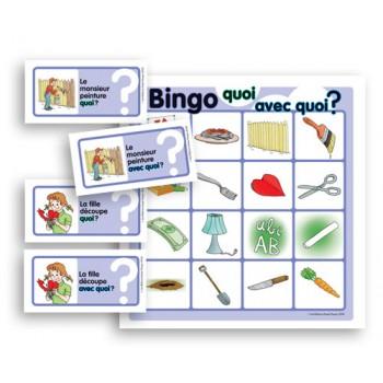 Bingo Quoi - Avec Quoi ?