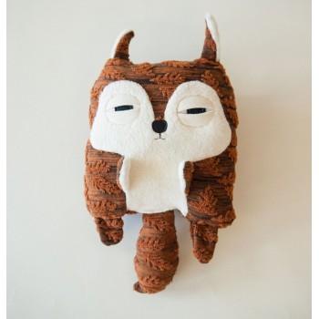 Peluche Bébé écureuil - Velvet Moustache
