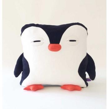 Coussin Pingouin - Velvet Moustache