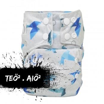 Couche Teo*2 Origami Snaps - Omaiki