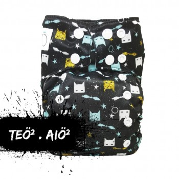 Couche Teo*2 Super Héros Snaps - Omaiki