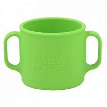 Tasse D'apprentissage Vert - Green Sprouts