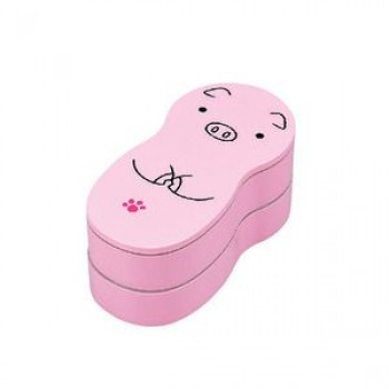 Bento « Animal Set » - Cochon Rose