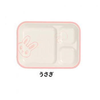 Assiette Lapin Rose Sketch Kids