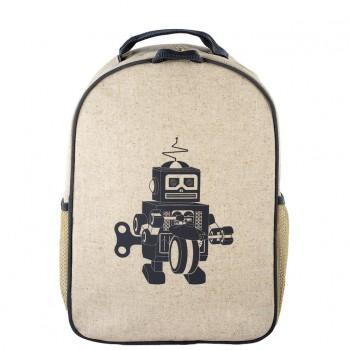 Sac à Dos Petit - Robot Gris - Soyoung