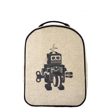Boîte à lunch isotherme pour sac à dos SoYoung - Robot Gris