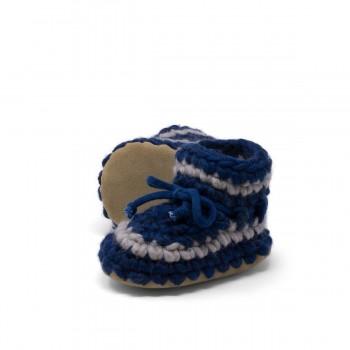 Pantoufles - 3 Mois (gr.3)  Bleu Denim - Padraig