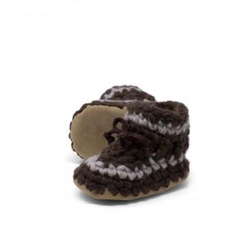 Pantoufles - 3 Mois (gr.3) - Brun - Padraig