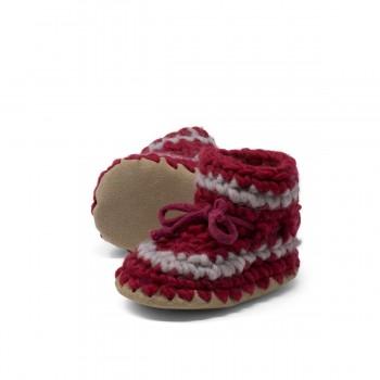 Pantoufles - 3 Mois (gr.3) - Rouge - Padraig