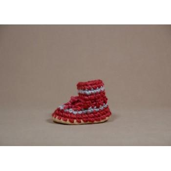 Pantoufles - 1 An (gr.5) - Rouge - Padraig