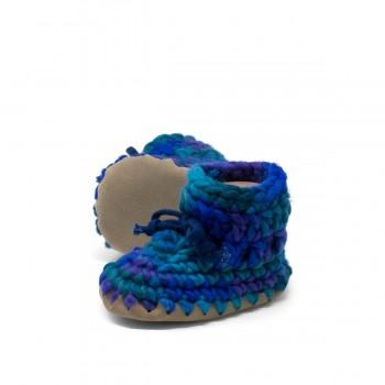 Pantoufles -  1 An (gr.5) - Bleu Multi - Padraig