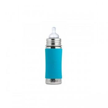 Biberon Pura Bleu/acier Inoxydable 9 À 11oz ( 275 à 325ml)