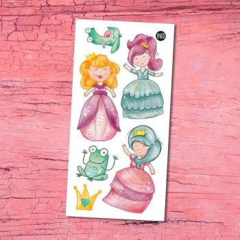 Tatouage Temporaire - Les Princesses - Pico