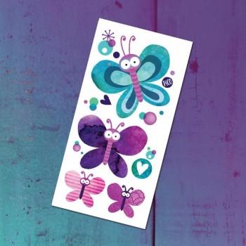 Tatouage Temporaire - Les Jolis Papillons - Pico
