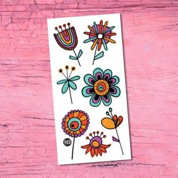 Tatouage Temporaire - Les Douces Fleurs