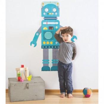 Toise De Croissance - Robot - Petit Collage