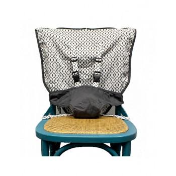 Chaise De Voyage - Gris Foncé - Mint Marshmallow