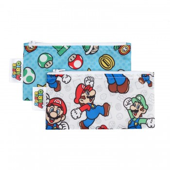 Sac À Collation 2/pqt - Super Mario - Bumkins