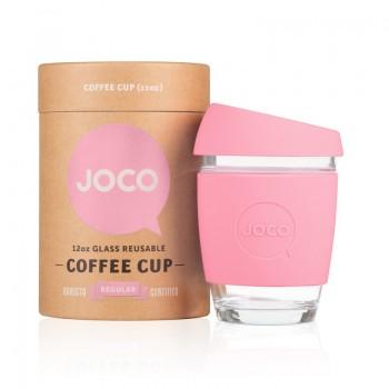 Tasse en Verre 12oz - Rose - Joco