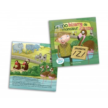 Livre - Le Zoo Bizarre De Monsieur Zazoo