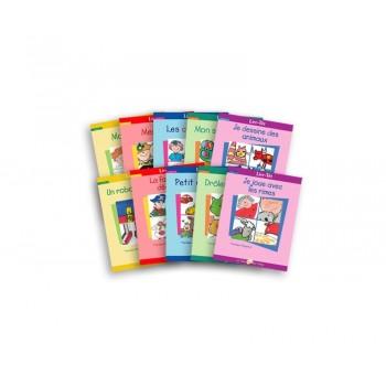 Livre - Lire-tot - Serie A - Livres 1 à 10