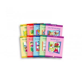 Livre - Lire-tôt - Série B - Livres 1 à 10