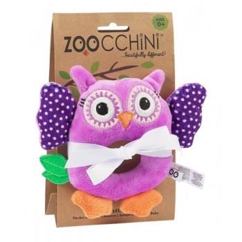Hochet Toutou Hibou - Zoocchini