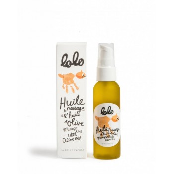 Huile à Massage 60ml - Lolo - La Belle Excuse