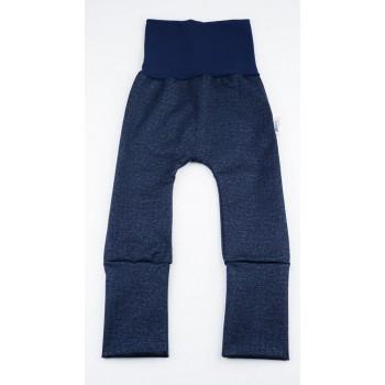 Pantalon évolutif (0-12m) Jeans Bleu - Coton Vanille