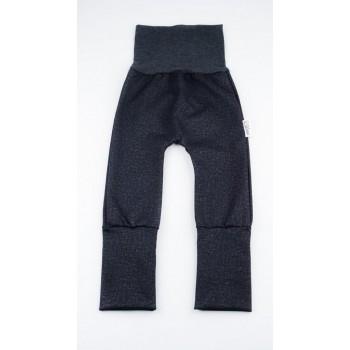 Pantalon évolutif (0-12m) Jeans Noir - Coton Vanille