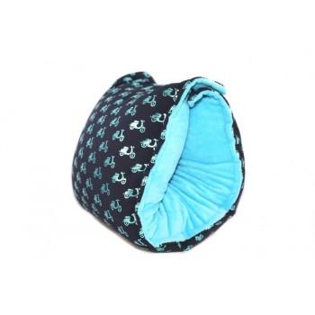 Manchon D'allaitement Mini - Scooters Turquoise - G&B