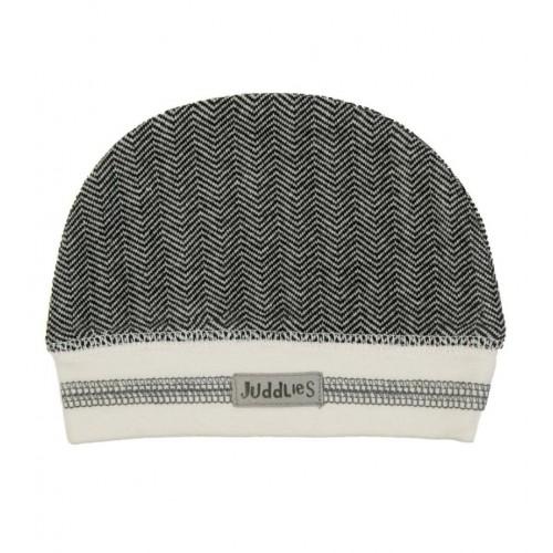 Bonnet 4-12m - Noir/Gris - Juddlies