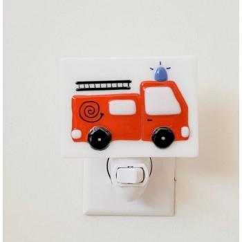 Veilleuse - Camion Pompier - Veille Sur Toi