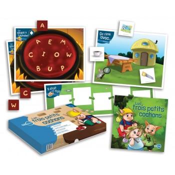 Prêt à Lire 4 - Les Trois Petits Cochons