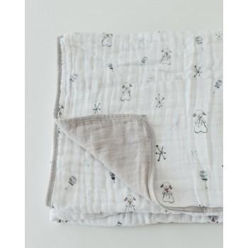 Couette en Mousseline de Coton - Lamby - Little Unicorn