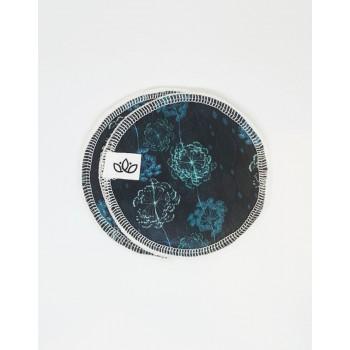 Compresses Allaitement 4/pqt - Turquoise - Lotus - Omaiki