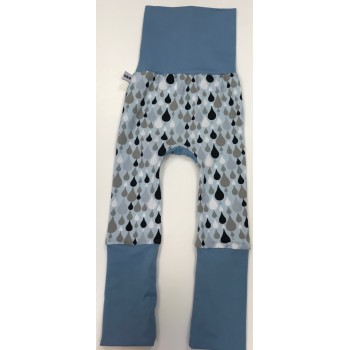Pantalon Évolutif 6-36m - Pluie Bleue - G&b