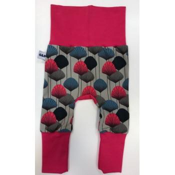 Pantalon Évolutif 0-12m - Fleurs - G&b