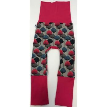 Pantalon Évolutif 6-36m - Fleurs - G&b