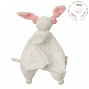 Doudou Peppa Floppy - Coeur Rose