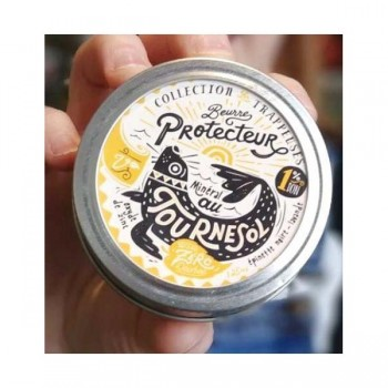 Beurre Protecteur Mineral au Tournesol - Pot Masson 250ml - Savonnerie Des Diligences