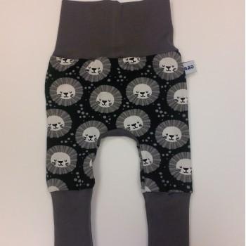 Pantalon Évolutif 0-12m - Lion Gris - G&B