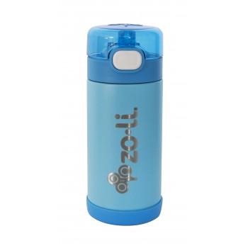 Gourde à isolation thermique avec Paille 10oz - Zoli-pow Bleu - Zoli