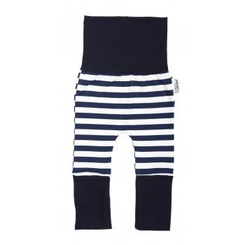 Pantalon Évolutif (0-12m) Air Marin - Coton Vanille