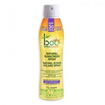 Écran Solaire Naturel en Spray FPS 30 - 177g - Baby Boo Bamboo