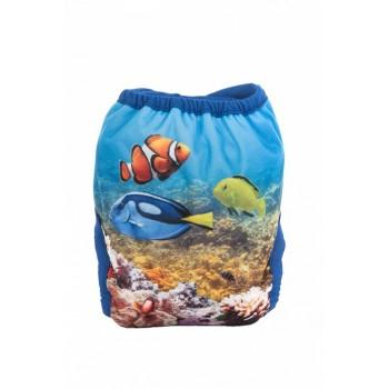 Couche-maillot Splash! Swimmi - Taille unique - Corail - Bummis