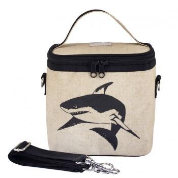 Sac à Lunch Isotherme Petit - Requin Noir - Soyoung