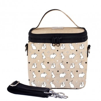 Boîte à Lunch Isotherme Petit - Lapins Blancs - Soyoung