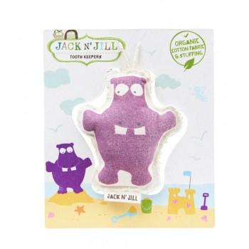 Pochette Pour La Fée Des Dents - Hippo - Jack N'jill