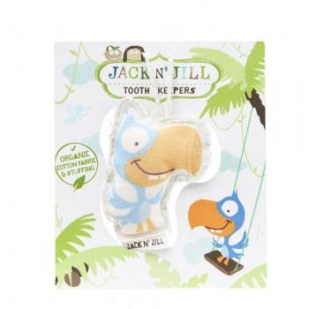 Pochette Pour La Fée Des Dents - Perroquet - Jack N'jill